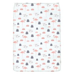 Cute Flamingos And  Leaves Pattern Flap Covers (S)