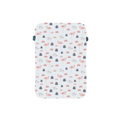 Cute Flamingos And  Leaves Pattern Apple iPad Mini Protective Soft Cases