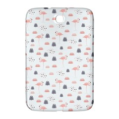Cute Flamingos And  Leaves Pattern Samsung Galaxy Note 8.0 N5100 Hardshell Case