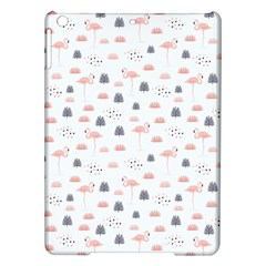 Cute Flamingos And  Leaves Pattern iPad Air Hardshell Cases