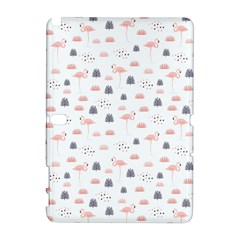 Cute Flamingos And  Leaves Pattern Galaxy Note 1