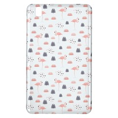 Cute Flamingos And  Leaves Pattern Samsung Galaxy Tab Pro 8.4 Hardshell Case
