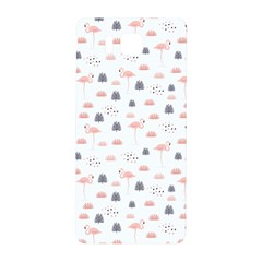 Cute Flamingos And  Leaves Pattern Samsung Galaxy Alpha Hardshell Back Case
