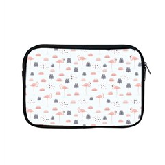Cute Flamingos And  Leaves Pattern Apple Macbook Pro 15  Zipper Case