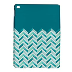 Zigzag pattern in blue tones iPad Air 2 Hardshell Cases