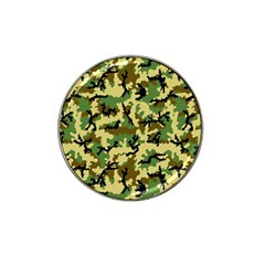 Camo Woodland Hat Clip Ball Marker (4 pack)