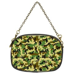 Camo Woodland Chain Purses (Two Sides)