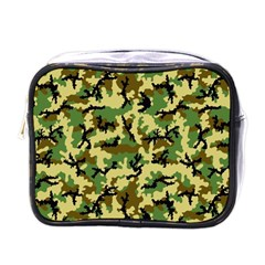 Camo Woodland Mini Toiletries Bags