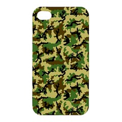Camo Woodland Apple iPhone 4/4S Premium Hardshell Case