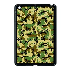 Camo Woodland Apple iPad Mini Case (Black)
