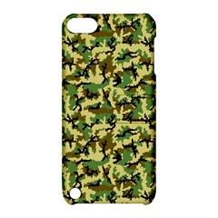 Camo Woodland Apple iPod Touch 5 Hardshell Case with Stand