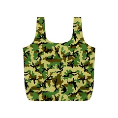Camo Woodland Full Print Recycle Bags (S)