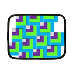 Geometric 3d Mosaic Bold Vibrant Netbook Case (small)