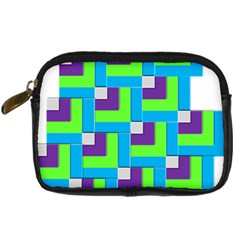 Geometric 3d Mosaic Bold Vibrant Digital Camera Cases