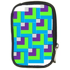 Geometric 3d Mosaic Bold Vibrant Compact Camera Cases