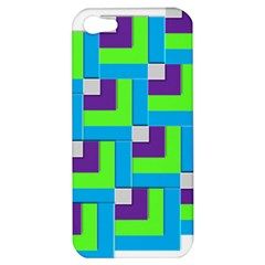 Geometric 3d Mosaic Bold Vibrant Apple Iphone 5 Hardshell Case