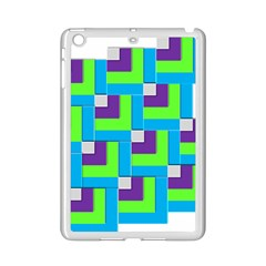 Geometric 3d Mosaic Bold Vibrant Ipad Mini 2 Enamel Coated Cases