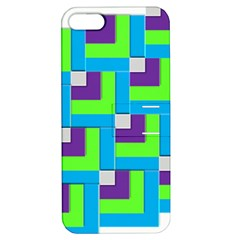 Geometric 3d Mosaic Bold Vibrant Apple Iphone 5 Hardshell Case With Stand