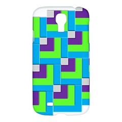Geometric 3d Mosaic Bold Vibrant Samsung Galaxy S4 I9500/I9505 Hardshell Case