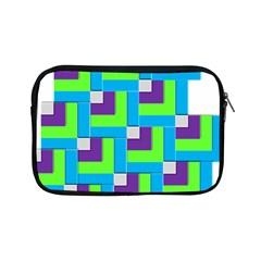 Geometric 3d Mosaic Bold Vibrant Apple Ipad Mini Zipper Cases