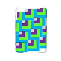 Geometric 3d Mosaic Bold Vibrant Ipad Mini 2 Hardshell Cases