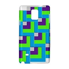 Geometric 3d Mosaic Bold Vibrant Samsung Galaxy Note 4 Hardshell Case