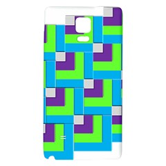 Geometric 3d Mosaic Bold Vibrant Galaxy Note 4 Back Case