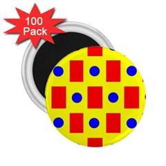 Pattern Design Backdrop 2 25  Magnets (100 Pack)