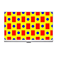 Pattern Design Backdrop Business Card Holders