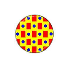 Pattern Design Backdrop Hat Clip Ball Marker