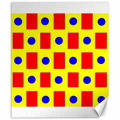 Pattern Design Backdrop Canvas 8  X 10