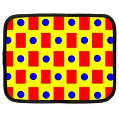 Pattern Design Backdrop Netbook Case (large)
