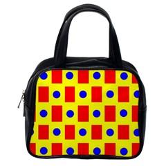 Pattern Design Backdrop Classic Handbags (one Side)