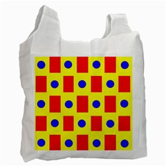 Pattern Design Backdrop Recycle Bag (two Side)