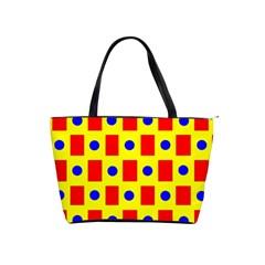 Pattern Design Backdrop Shoulder Handbags