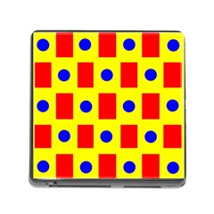 Pattern Design Backdrop Memory Card Reader (square)