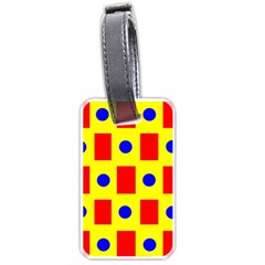 Pattern Design Backdrop Luggage Tags (one Side)