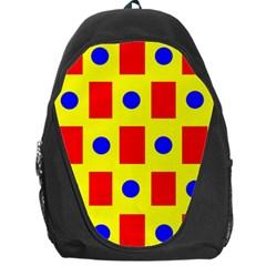 Pattern Design Backdrop Backpack Bag