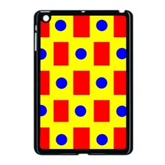 Pattern Design Backdrop Apple Ipad Mini Case (black)