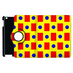 Pattern Design Backdrop Apple Ipad 3/4 Flip 360 Case