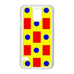 Pattern Design Backdrop Samsung Galaxy S5 Case (White)