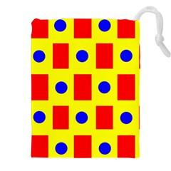 Pattern Design Backdrop Drawstring Pouches (XXL)
