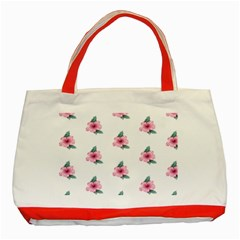 Etro Vintage Former Wallpaper Classic Tote Bag (red)