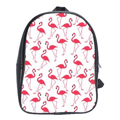 Flamingo pattern School Bags(Large)