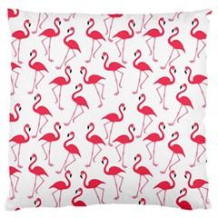Flamingo pattern Large Flano Cushion Case (One Side)