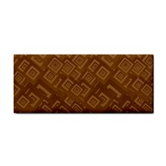 Brown Pattern Rectangle Wallpaper Cosmetic Storage Cases