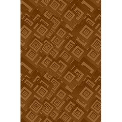 Brown Pattern Rectangle Wallpaper 5 5  X 8 5  Notebooks
