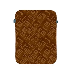 Brown Pattern Rectangle Wallpaper Apple Ipad 2/3/4 Protective Soft Cases