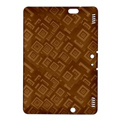 Brown Pattern Rectangle Wallpaper Kindle Fire HDX 8.9  Hardshell Case