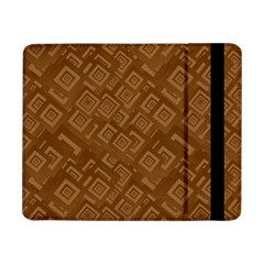 Brown Pattern Rectangle Wallpaper Samsung Galaxy Tab Pro 8 4  Flip Case